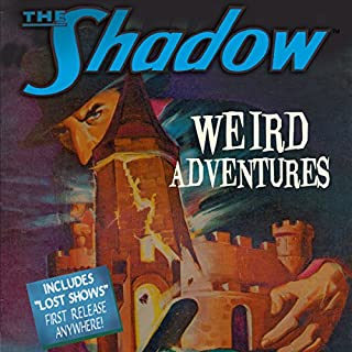 The Shadow: Weird Adventures audiobook cover art