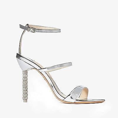 Sophia Webster Rosalind Crystal Sandal (Silver) Women