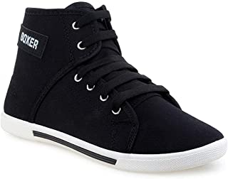 CLYMB Black Sneaker Shoes for Women
