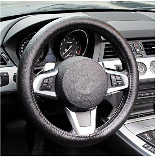 beishuo en PU imitation cuir pour volant de voiture Taille : S (37 cm)