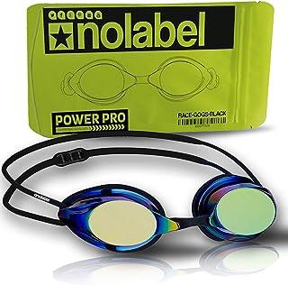 Anuncio patrocinado: No Label Gafas de natación - Gafas de natación de competición - Gafas con Lentes Anti-empaño para Nad...