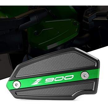 Moto Avant Couvercle Réservoirs de liquide de freins CNC Aluminum pour Kawasaki Z900 2017 2018 2019