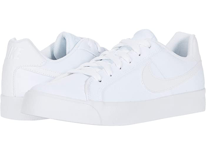 nike court totale ac white