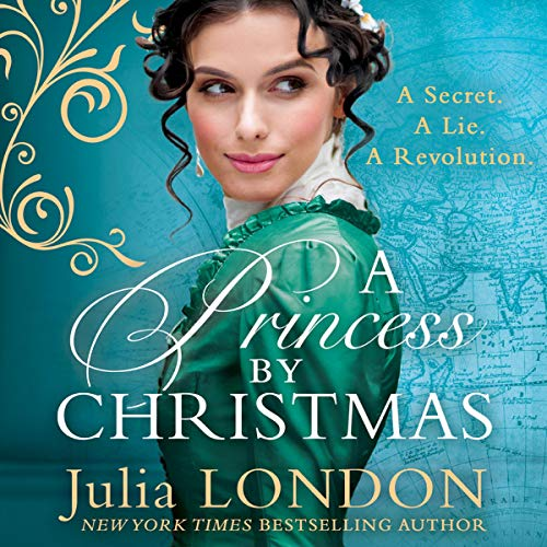 A Princess by Christmas  By  cover art
