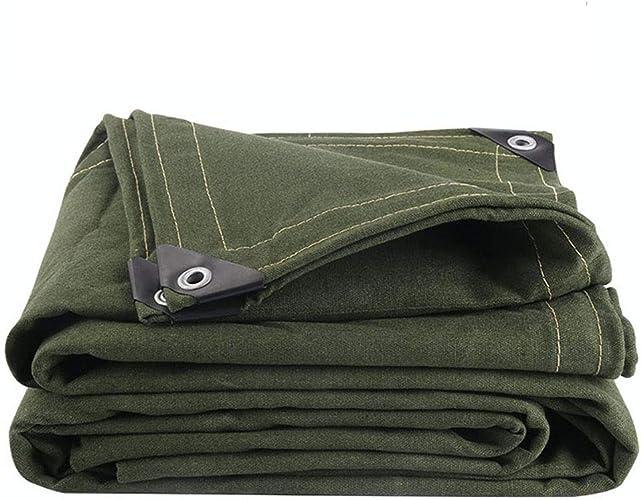 QLLYB Toile de Tissu imperméable auvent imperméable de Toile de Camouflage épais de Tissu extérieur de Tissu de Store extérieur de Tissu d'Oxford, diverses Tailles (Taille   4m7m)