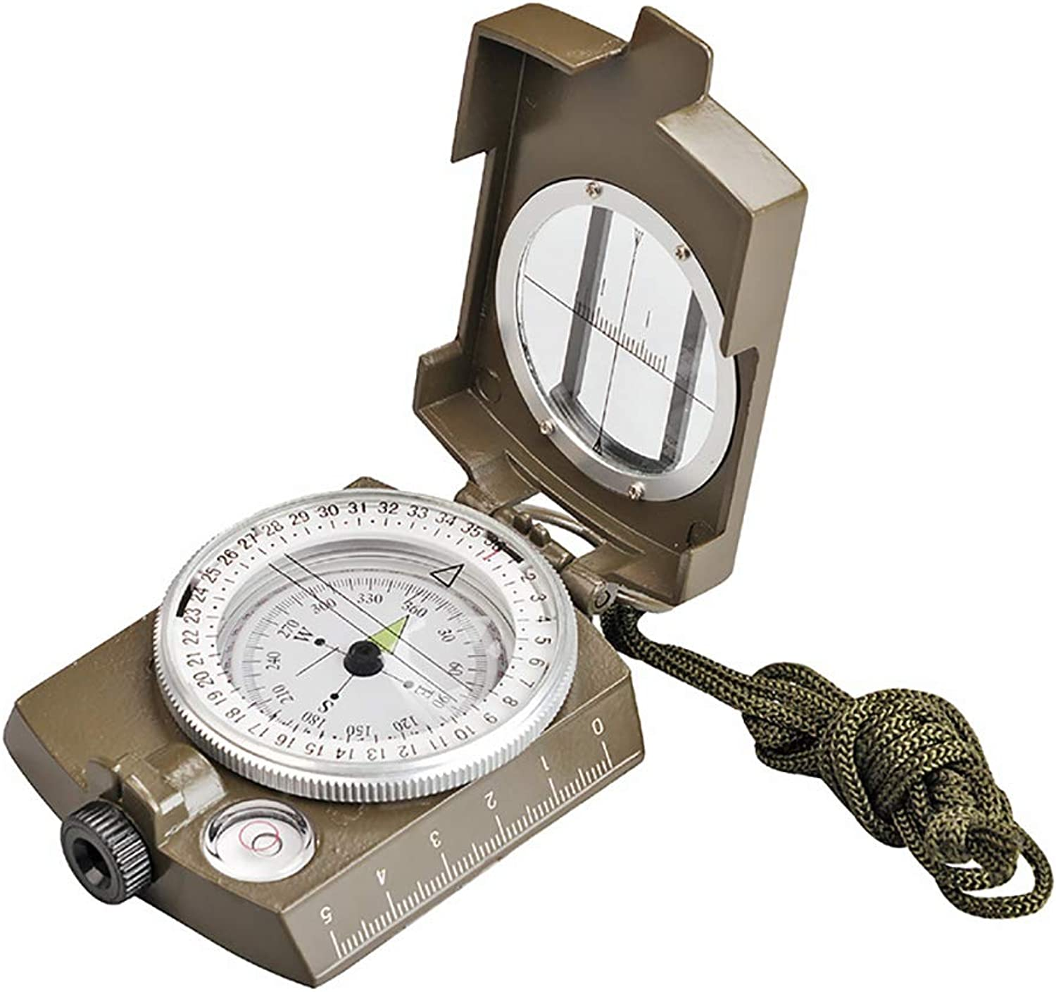Outdoor MultiFunction Geological Compass Instrument American Compass Luminous Waterproof Compass