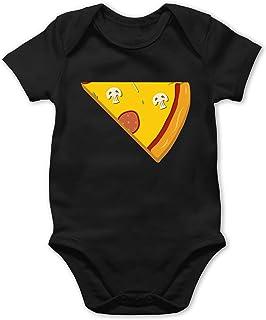 Shirtracer Partner-Look Familie Baby - Pizza Partner Teil 2 - Baby Body Kurzarm für Jungen und Mädchen