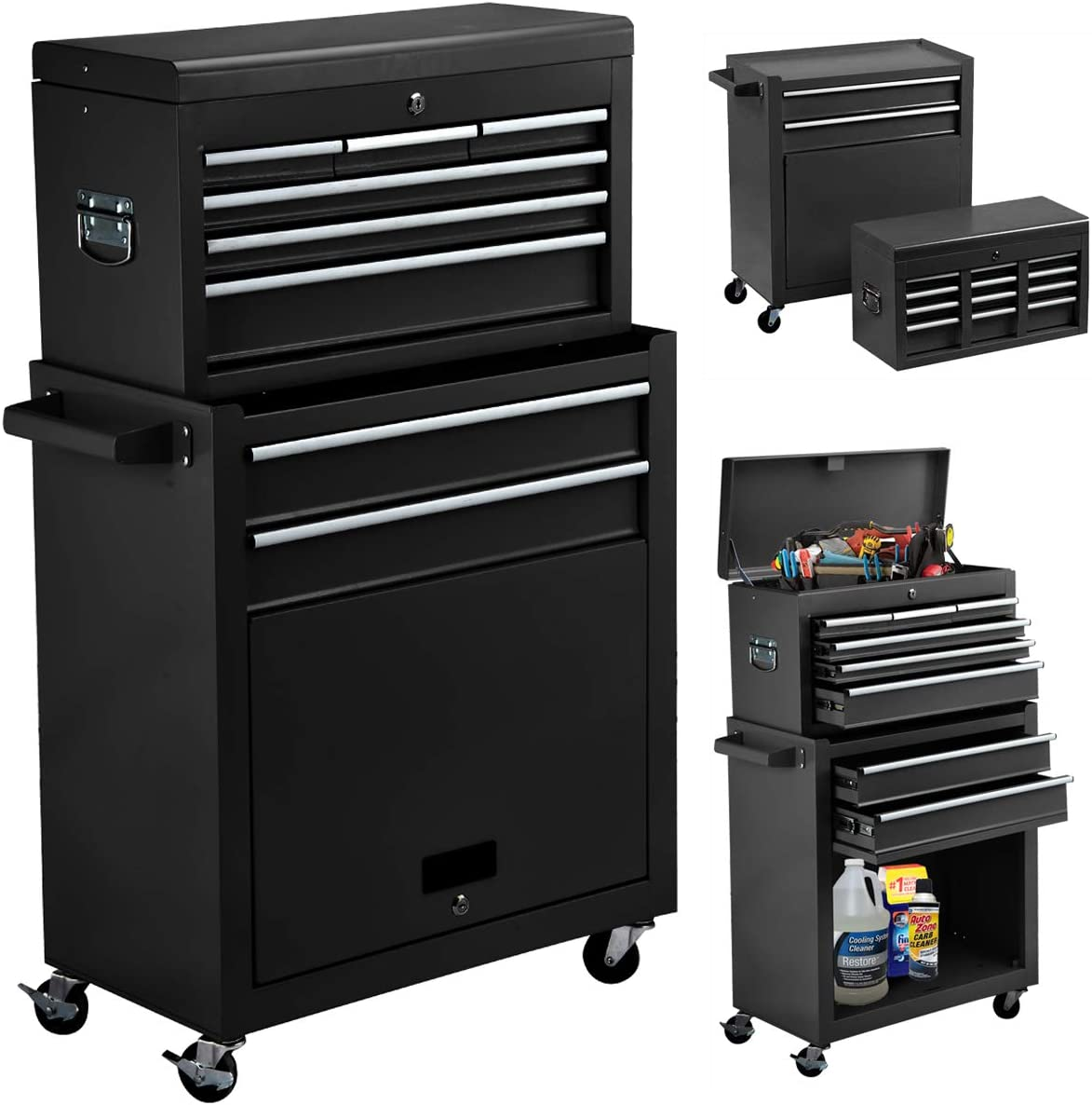Buy High Capacity 200 Drawer Rolling Tool Chest 20in20 Portable Tool ...