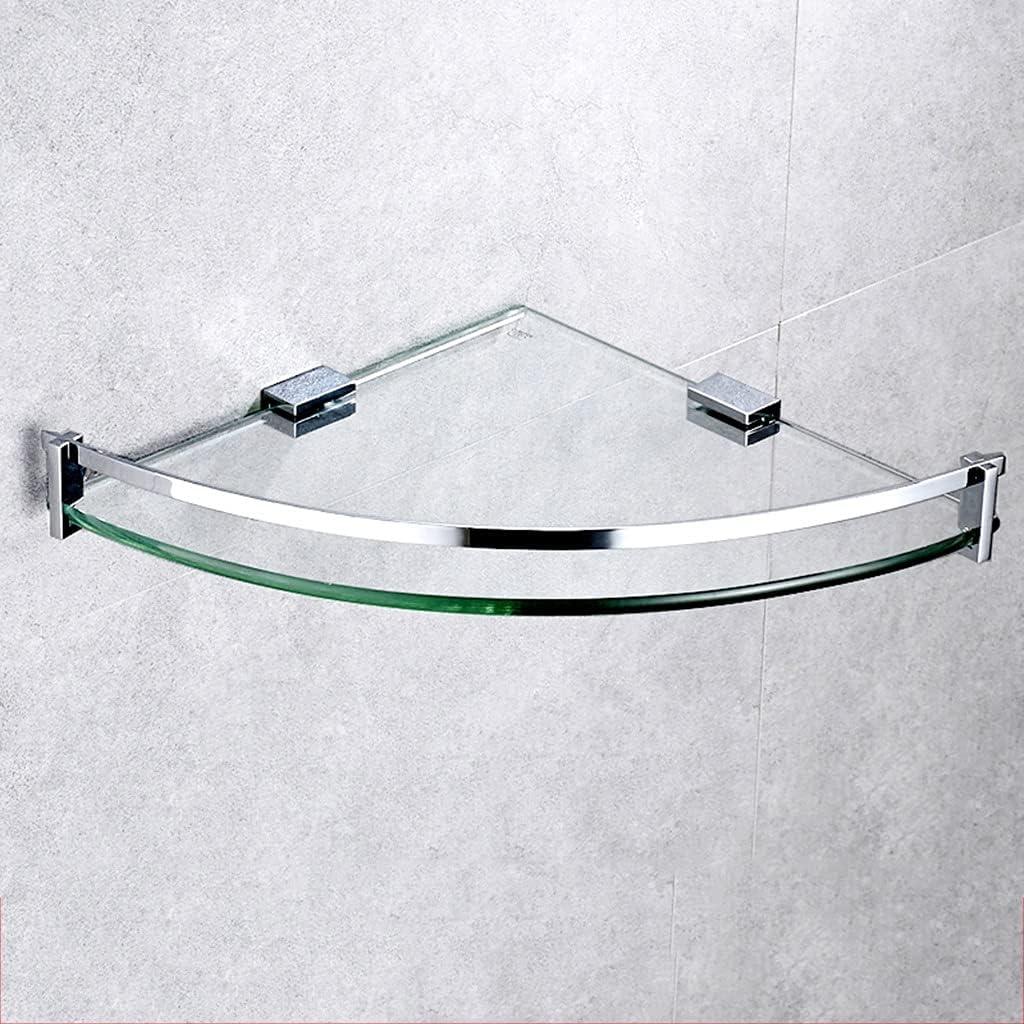 QFFL Glass Corner Shelf Wall Tempe Very popular 8mm Guardrail 5 ☆ popular with Mounted