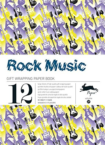 Rock Music: Gift and Creative Paper Book Vol. 27 (Gift Wrapping Paper Book, Band 27)