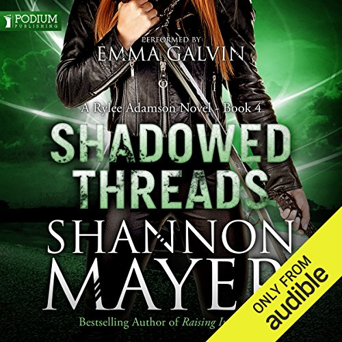 Shadowed Threads audiobook cover art