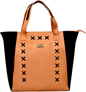 Pinkish Leatherette Handbags For Women's Ladies PK-Daily-015 PK-07 Multi-Coloured