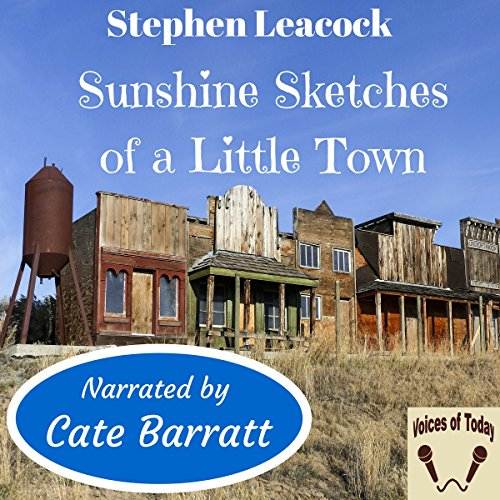 Sunshine Sketches of a Little Town audiobook cover art