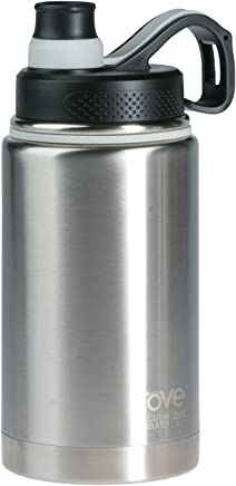 Rove 36oz Double Wall Stainless Steel Vacuum Insulated Bottle - Unlimitless 3 (Silver)
