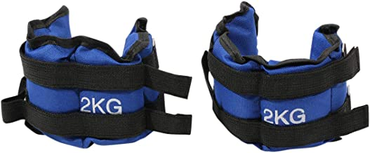 Max Strength-Ankle & Wrist Weights 2kgs X 2pcs Wrist Ankle Weights Resistance Strength Training Exercise Bracelets Straps Gym