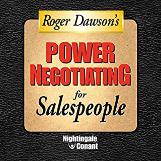 Power Negotiating for Sales People audiobook cover art