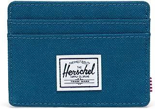 Herschel Charlie RFID para Hombre, Color Azul marroquí, Talla única, Charlie RFID