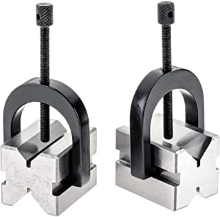 Grizzly Industrial H5608 - V-Block Pair w/Clamps 1-5/8