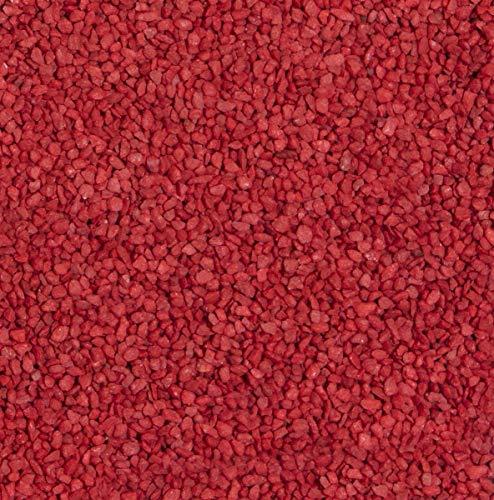 Dekogranulat / Dekosteine (2-3 mm), 1 kg, rot