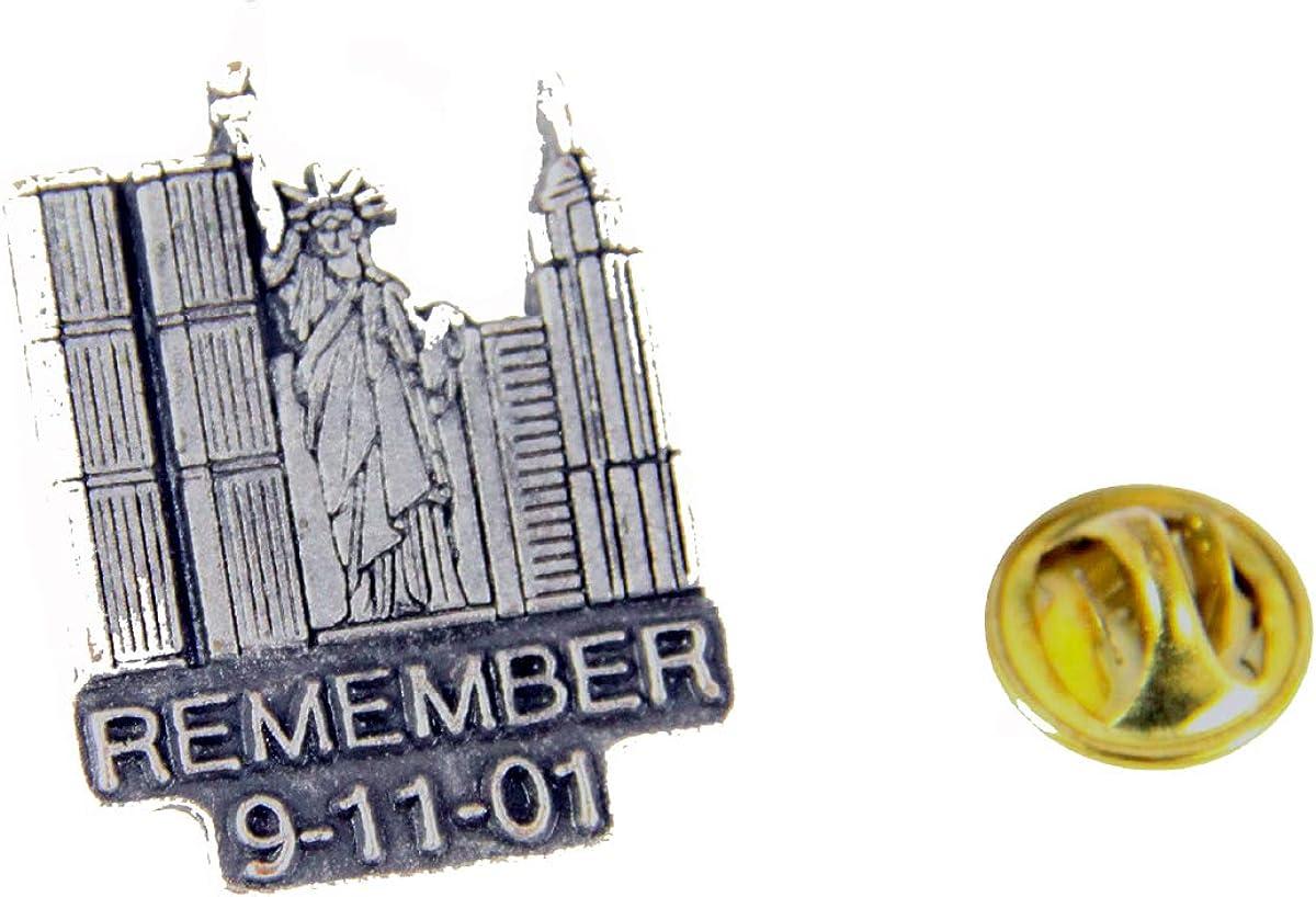 6030508 Remember 9-11-01 Lapel Pin September 11 Sept 11 World Trade Center