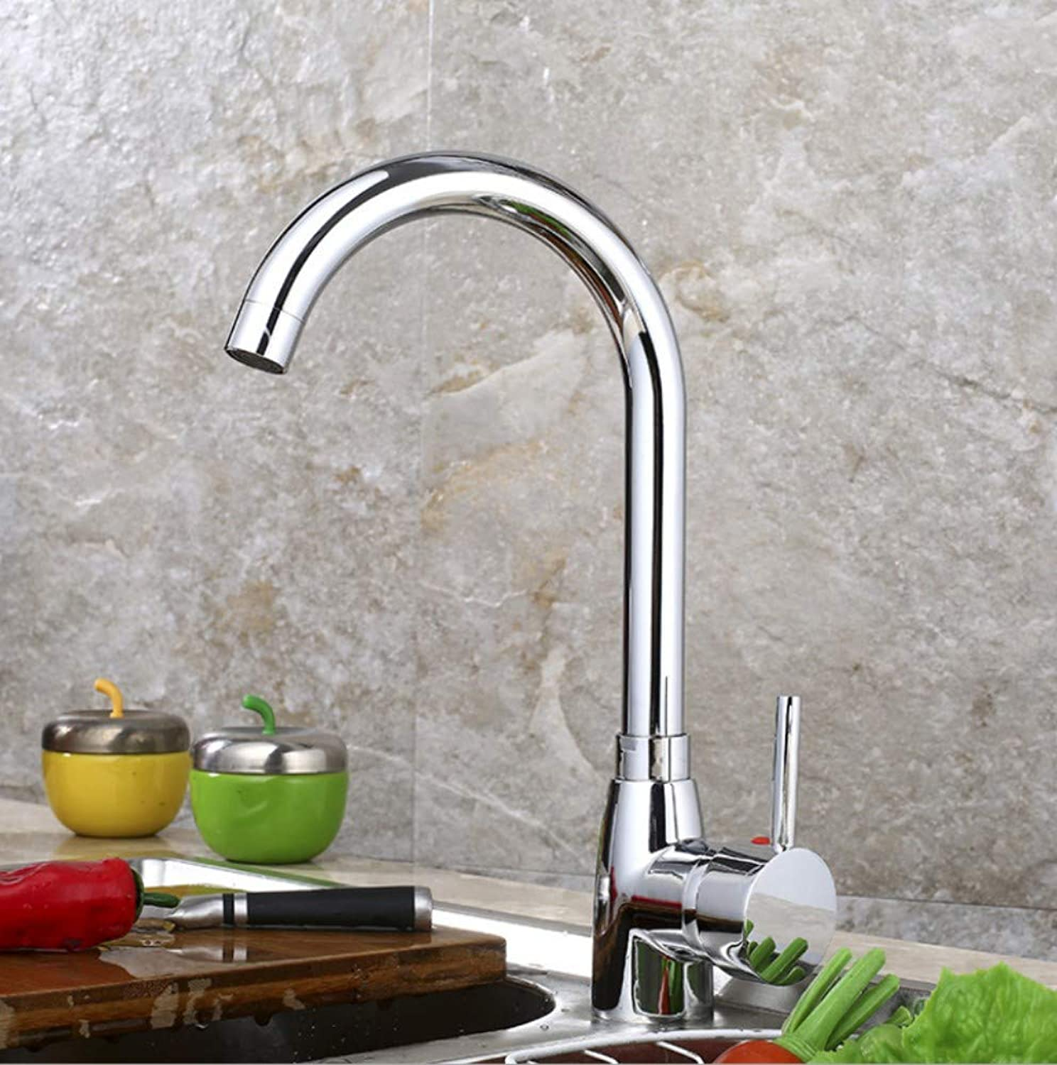 Bathroom Sink Basin Lever Mixer Tap Kitchen Faucet Cold and Hot Water Tank Dishpan Universal Faucet Copper redary Faucet