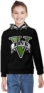G-TA G-rand T-Heft Auto Unisex Teenage Hoodie 3D Print Pullover Hooded Sweatshirt voor jongens en meisjes