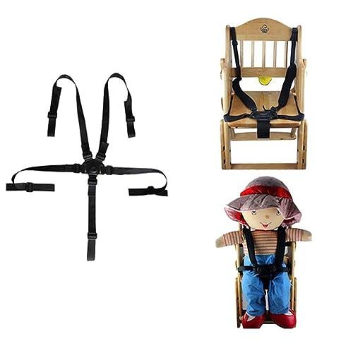 Affe réglable pour poussette bébé harnais ceinture de sécurité 5points