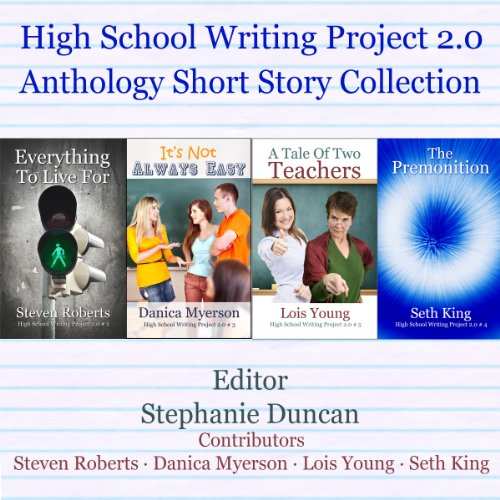 High School Writing Project 2.0     Anthology Short Story Collection              By:                                                                                                                                 Seth King,                                                                                        Steven Roberts,                                                                                        Danica Myerson,                   and others                          Narrated by:                                                                                                                                 Jeannie Lin                      Length: 1 hr and 18 mins     1 rating     Overall 2.0