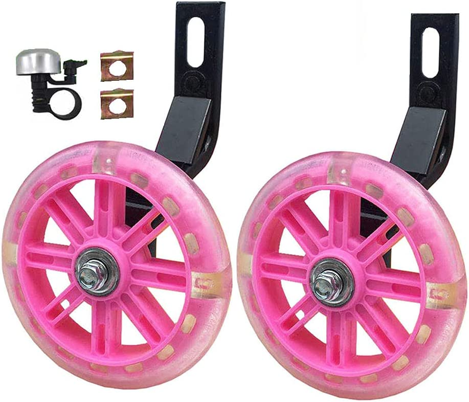 YTKD Training Wheels for [Alternative dealer] Bicycle Flash Compatible Mute Wheel Max 62% OFF