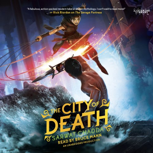 The City of Death audiobook cover art