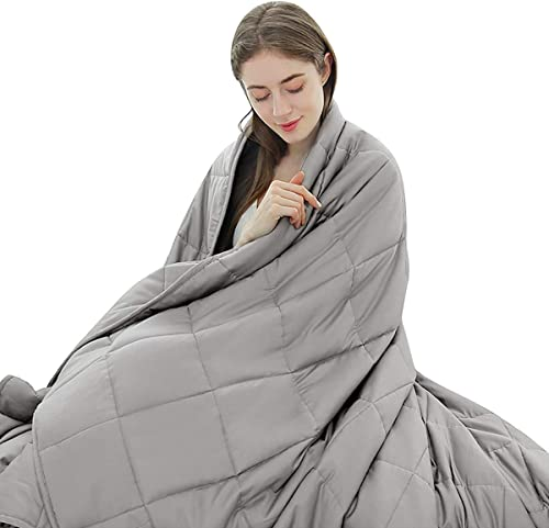 """popular Giantex Premium Weighted Blanket Smaller popular Pockets 15lbs 