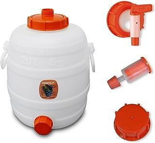 Cuve de fermentation en plastique 20 L, 'Speidel' - Kit complet