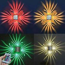 3 W vierkante wandlamp LED RGB wandlamp, aluminium sconce plafond licht Aisle slaapkamer Vestibule Foyer Cafe Corridor Cre...