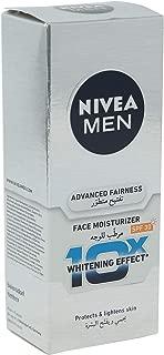 Nivea Advanced Fairness Face Oil Control Moistutizer Whitening For Men 40 ml, Pack of 1