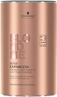 BlondMe Bond Enforcing Premium Lightener 9 Plus Dust Free Powder 15.8 oz