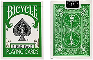 Green Bicycle Cards