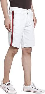 Ben Martin Men's Relaxed Shorts (BM-Tape-Short-WHT-G-R)