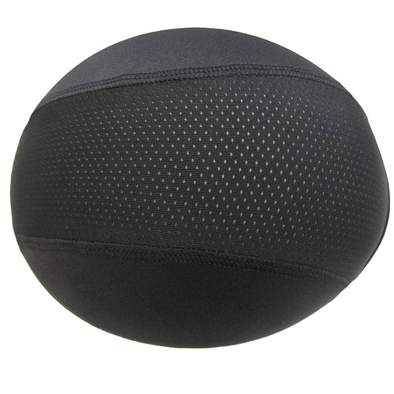チキン露骨なペイントヘルメットインナーキャップ ユニセックス帽子ドームキャップ 水分発散冷却スカルキャップ