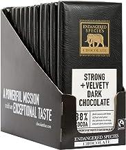 Endangered Species - Dark Chocolate Bars Box 88% Cocoa - 12 Bars