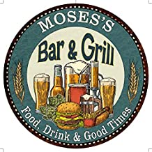 Chico Creek Signs MOSES'S Bar and Grill 12