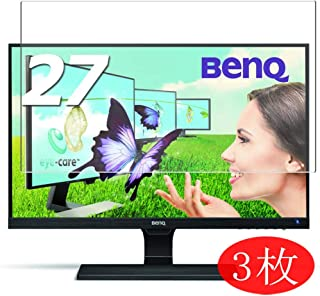 VacFun 3 Piezas HD Claro Protector de Pantalla Compatible con BenQ Monitor EW2775ZH / EW2770QZ 27