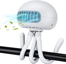 Mini USB Ventilator, Hisome Kinderwagenlüfter Schreibtischlüfter,3-Gang-Tischlüfter,Tragbarer Handheld Fan für Kindenwagen Büro Zuhause und Reise