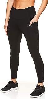 Reebok Womens Fitness High Rise Athletic Leggings