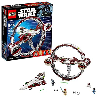 LEGO 6175769 Star Wars Jedi Starfighter with Hyperdrive 75191 Building Kit (825 Piece), Multicolor (Amazon Exclusive)