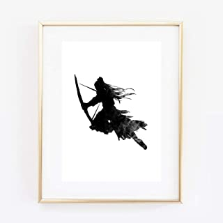 Kunstdruck Din A4 ohne Rahmen - Druck Kunstdruck A4 Samurai