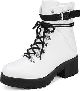 Women's Lace up Platform Ankle Boots