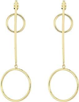 Khloe Hoop Earrings