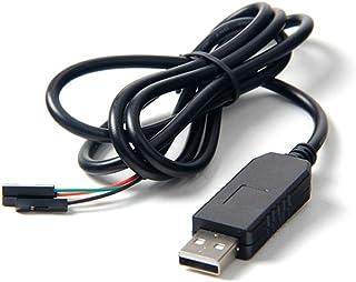GAOHOURaspberry Pi ラズベリーパイ用の USB-TTLシリアルコンソールのUSB変換COMケーブルモジュールのケーブル