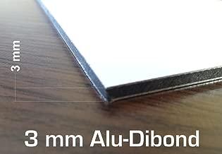 white dibond sheets
