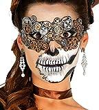 Máscara engranajes de látex steampunk